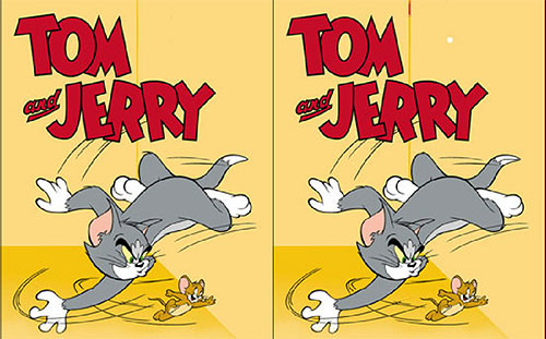 Tom and Jerry: Find the difference