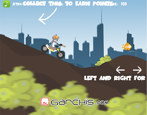 Tom and Jerry bikers screenshot