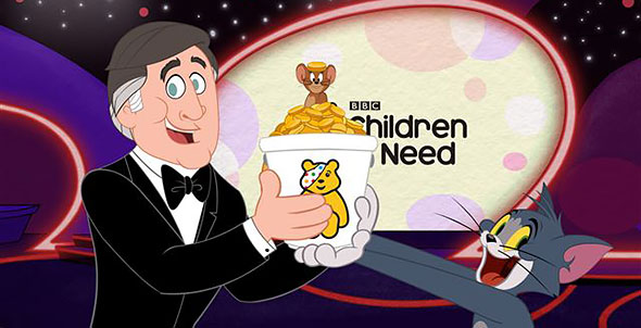 image of tom and jerry fund raising for children in need
