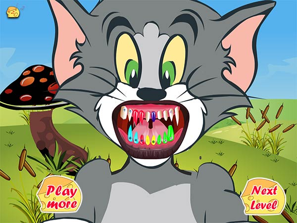 tom and jerry dentists: all teeth colored!